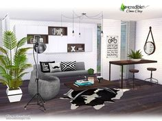 Dopecherryblossomheart — Come Cozy Created by Simcredible Created for The...