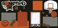 Basketball Star Page Kit
