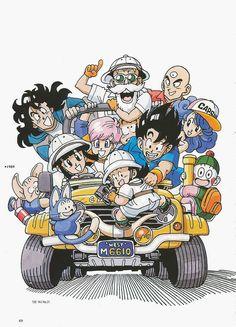 Dragon Ball Daizenshuu 01 Le Grand Livre De Dragon Ball - FR 10/1996 Scans by…