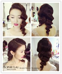Hair Styling Lessons New Sophie Lau Makeup And Hair Lesson  Sophie Lau Makeup And Hair .
