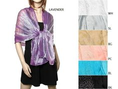 Love these evening scarves & wraps for a beautiful evening occasion.