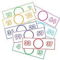 greater than/less than center cards-copy, laminate, expo markers and go! math by myself. Math For Kids, Fun Math, Math Stations, Math Centers, Math Resources, Math Activities, Fractions, Kindergarten, Math Classroom