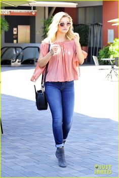olivia holt shopping target los angeles 05