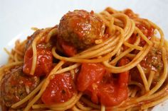 Skillet Spaghetti and Meatballs
