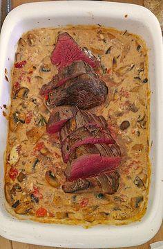 Rinderfilet aus dem Ofen 2