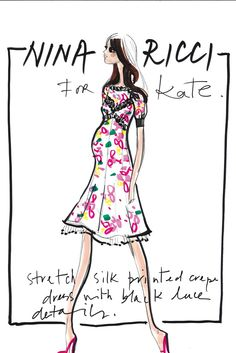 Kate Expectations: Maternity Designs for the Duchess of Cambridge (Nina Ricci)
