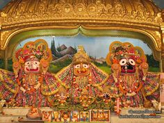 Jagannath Baladeva Subhadra Wallpaper   click here for more sizes http://harekrishnawallpapers.com/jagannath-baladeva-subhadra-iskcon-habibpur-wallpaper-001/