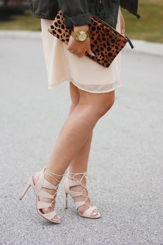 Spotlight on Spring Shoes [steve madden Sandalia lace up heels]