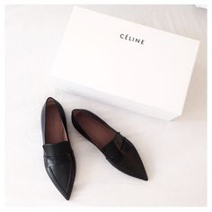Shoes // loafers || Celine -- just yes