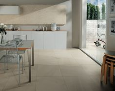 Esprit 04 Crema luna/ http://www.mirage.it/en/collezione/esprit/ Esprit is an interpretation of natural stone, a brand-new project characterised by all the allure of minimalist elegance. Technology and nature in perfect harmony, with beige and grey shades enhancing the veining to create a beautifully soft effect. #design #architecture #tile #ceramic #interior #living #home #stone #floor #wall #natural #shop #stoneware #soft #elegance