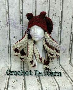 Crochet Octopus hat Pattern