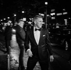 Bastian Schweinsteiger could totally be the next James Bond