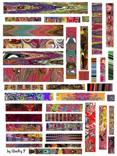"""From the flickr set of """"Absolutely Free Collage Sheets"""" #printables #free #collage #sheets"""