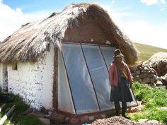 bioclimática: muro trombe   sistema pasivo de captación solar