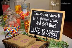 Candy Bar!  Divine Party Concepts - Dallas Wedding Photographers