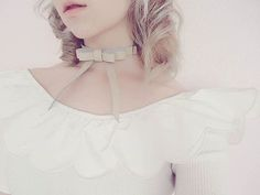 The Bowie Choker  Photo of Bebe @milkiiprincess  Valfre.com #valfre