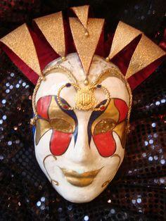 Máscara estilo veneziano.