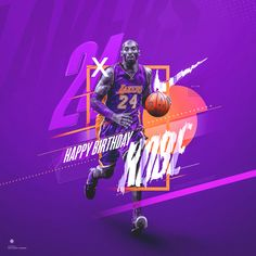best service b9840 0d3ea Nike (Spoof)   Kobe Bryant  24   Birthday Graphic on Behance 24 Birthday
