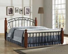 Krásna štýlová posteľ 160 X 200cm vrátane roštu zľava - 1