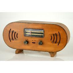 RADIO VINTAGE #radio #madera #vintage #comprar #tienda #antigua