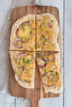 Sauerkraut-Pizza mit Bierteig