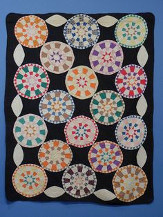 Georgetown Circle Quilt    American Folk Art Museum  Georgetown Circle Quilt  Artist unidentified  Kentucky USA 1900 - 1920  Gift of Shelly Zegart    More pictures can be found in the American Folk Art Museum Flickr Set