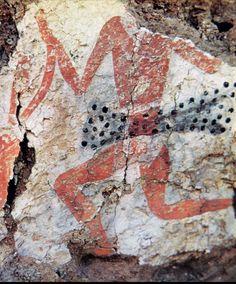 Dancing Hunter at Catal Huyuk.  c. 6000 - 5500 BC.E