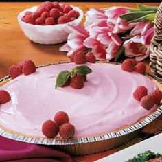"""Frosty Freezer Pie Recipe -""""This pretty pie can be whipped up in no time. But it tastes so sweet and creamy people will think you fussed,"""" assures Sue Blow of Lititz, Pennsylvania. """"My family likes it best when it's made with orange sherbet. It's especially refreshing on a warm summer day."""""""