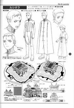 Last Exile Artbook -- Aerial Log -- Last Exile, Old Friends, Book Art, Character Design, Sketches, Animation, Fantasy, Manga, Memes