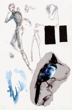 bocetos de cena del vestuario de katniss everdeen - Buscar con Google