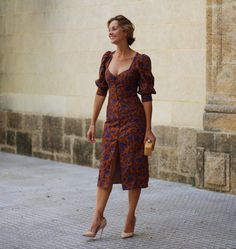 Mangas abullonadas Look Formal, Zara, Cold Shoulder Dress, Street Style, Dresses, Fashion, Peplum Gown, Summer Dresses, Dresses With Sleeves