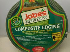 2 Rolls Jobes Garden Edging Composite Edging 312 in x 16 ft Green 4 Metal Stakes Included -- Check this awesome product by going to the link at the image. Garden Edging, Planting Seeds, Metal, Bulbs, Link, Awesome, Green, Check, Plants