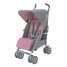 MACLAREN Techno XLR Poussette Gris/Rose | Your #1 Source for Baby Products