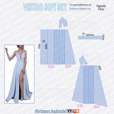 Coat Patterns, Dress Sewing Patterns, Clothing Patterns, Jacket Pattern, Pattern Dress, Sewing Hacks, Sewing Projects, Barbie Fashionista Dolls, A Line Prom Dresses