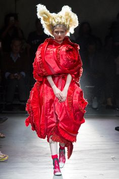 Comme des Garçons - Spring 2015 Ready-to-Wear - Look 11
