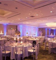 The Westin South Coast Plaza, Orange County weddings, indoor weddings, dinner reception, centerpieces, linens, uplighting, white and purprle, wedding decor, #thewestinscp #twscp #westinweddings #southcoastplaza #thewestin