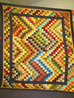 White Oak Mountain Quilt Guild - Scrap quilt