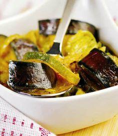 Przepis Roberta Makłowicza - Coconut eggplants curry (kokosowe curry z bakłażanów