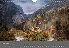 Zwielicht - Fantasylandschaften Wandkalender 2020 DIN A4 quer: Amazon.de: Simone Wunderlich: Bücher Digital Art, Water, Outdoor, Wall Calendars, The Great Outdoors, Aqua, Outdoors