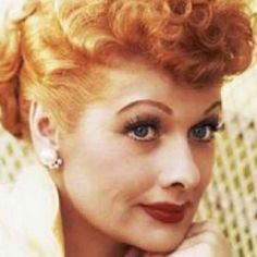 Where oh where would we be without Lucy??!? She is the original goofy redhead that set the bar for the rest of us! :)   Love her