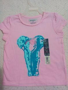 Blusa para nena, talla 2 años, 100% algodón, $100MX