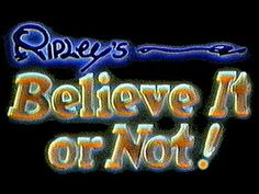 Ripley's Believe It Or Not! (S3, Ep3 - October 14,1984) Animal Group Names, Golden Eagles, Cardinal Wolsey's Death