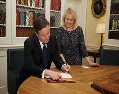 The Prime Minister, Rt Hon #DavidCameron #MP, signed the #AnneFrank Declaration at 10 Downing Street on Wednesday 17 December. He signed as Prime Minister of the United Kingdom and Leader of the #ConservativeParty.