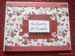 Sympathy card (It's Just Life)