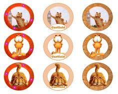 Homemade Birthday, Diy Birthday, Birthday Parties, Garfield Birthday, Party Themes, Party Ideas, Party Printables, Free, Fiestas