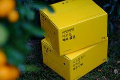 카카오파머 제주 / Kakao Farmer - yellow box of Jeju tangerines