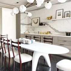 Interior by Damien Langlois-Meurinne via@1stdibs: Cool. Current. Clean...
