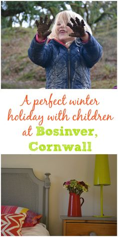 A review of a staycation at Bosinver Farm Cottages near St Austell in Cornwall, UK. Find out why Bosinver makes the perfect winter holiday with children #ad