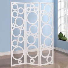 BESTSELLER! Contemporary Delicate White Circles P... $126.26