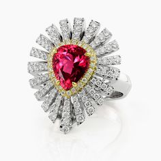 Noble Tanzanian Spinel Ring | Kat Florence